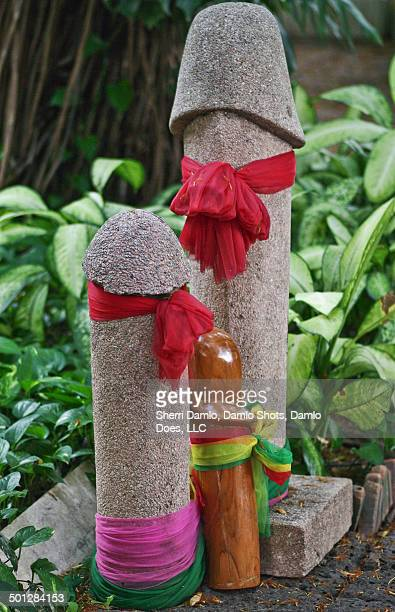 phallic offerings - damlo does stock pictures, royalty-free photos & images
