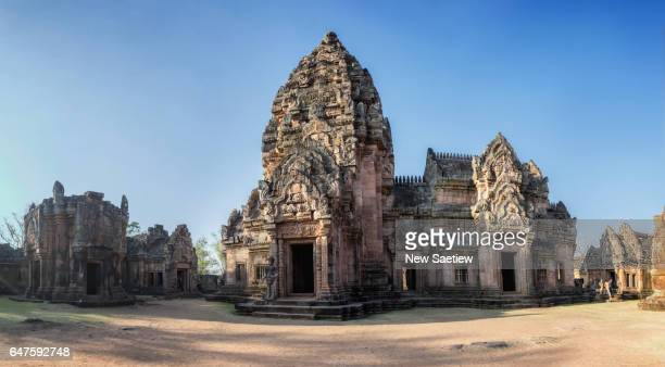 Phanom Rung Historical Park at Buriram in Thailand.