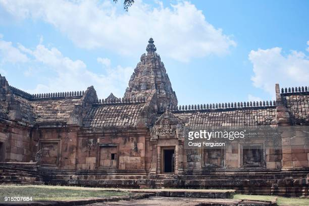 Phanom Rung is a Hindu temple complex built on the rim of an extinct volcano that was constructed during the Khmer empire Built between the 10th and...