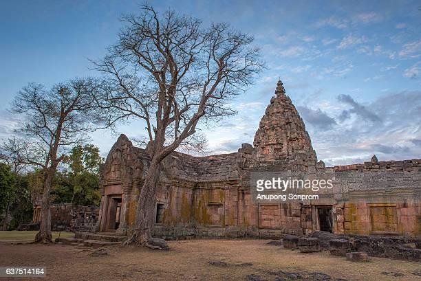 Phanom Rung Stone Castle in Phanom rung Historical Park, Thailand