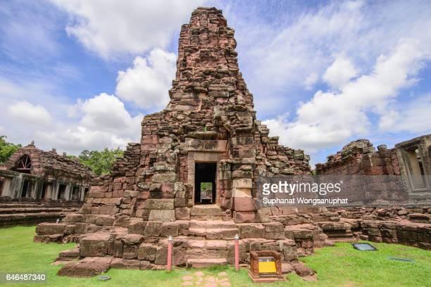 Phanom Rung stone temple in Barirum , Thailand