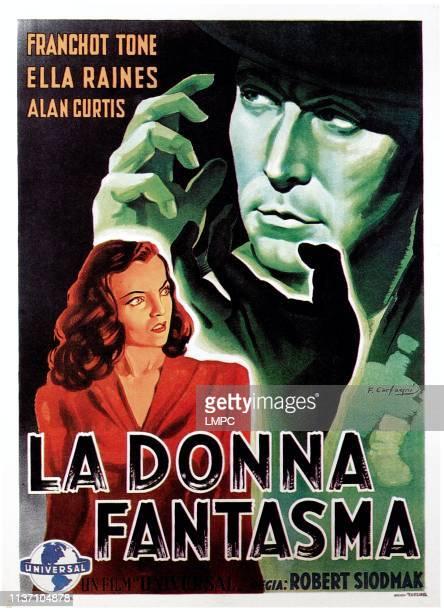Phantom Lady poster Ella Raines Franchot Tone 1944