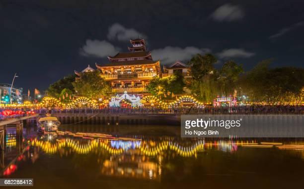 Phap Hoa Temple in Hochiminh, Vietnam