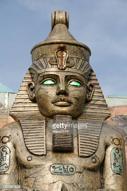 pharao - death mask of tutankhamen stock pictures, royalty-free photos & images