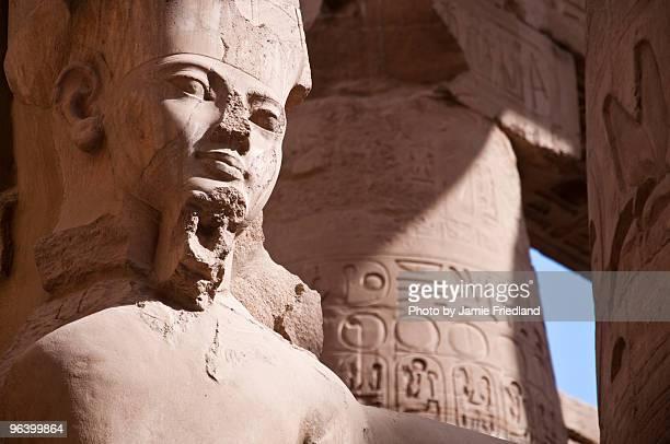 pharaoh - karnak fotografías e imágenes de stock