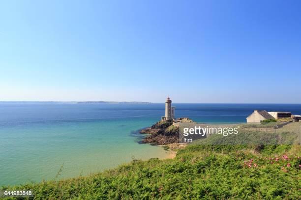 Phare de Kermorvan (Lighthouse Kermovan), France/ Brittany/ Finistere
