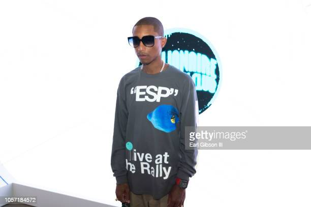 Pharell Williams attends 2018 ComplexConDay 1 at Long Beach Convention Center on November 3 2018 in Long Beach California