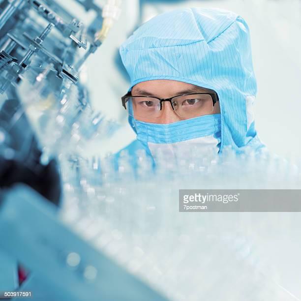 Pharmazeutische Fabrik Arbeiter