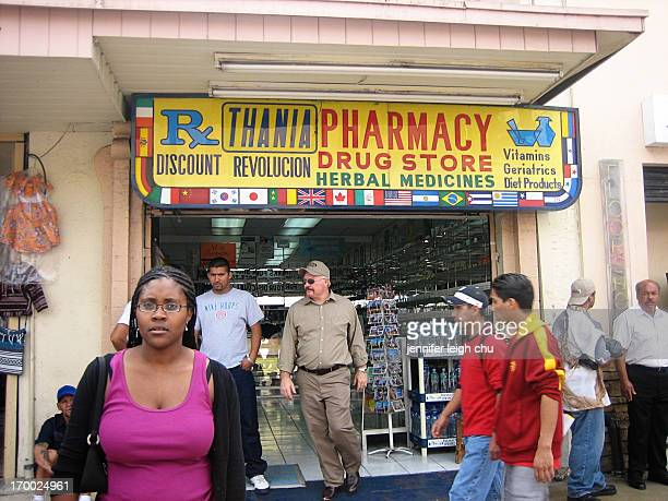 CONTENT] A pharmacist friend poses in front of one of the many pharmacies in Tijuana Mexico in June 2006 Back when it was safe to cross borders We...