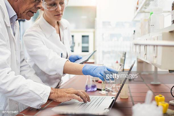 Pharmacist Using Modern Technology