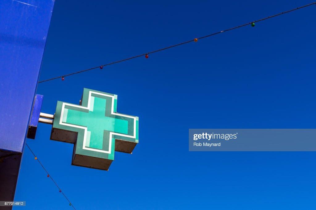 Pharmacy board : Stock Photo