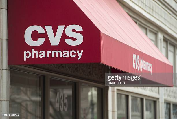 Pharmacy drug store is seen in Washington DC December 21 2016 / AFP / SAUL LOEB