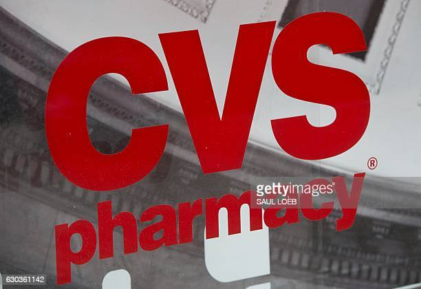 Pharmacy drug store is seen in Washington DC December 21 2016 / AFP / SAUL LOEB