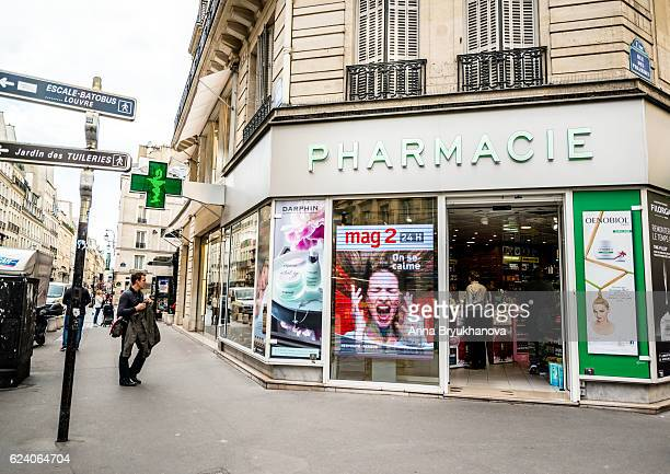Pharmacy in Paris, France