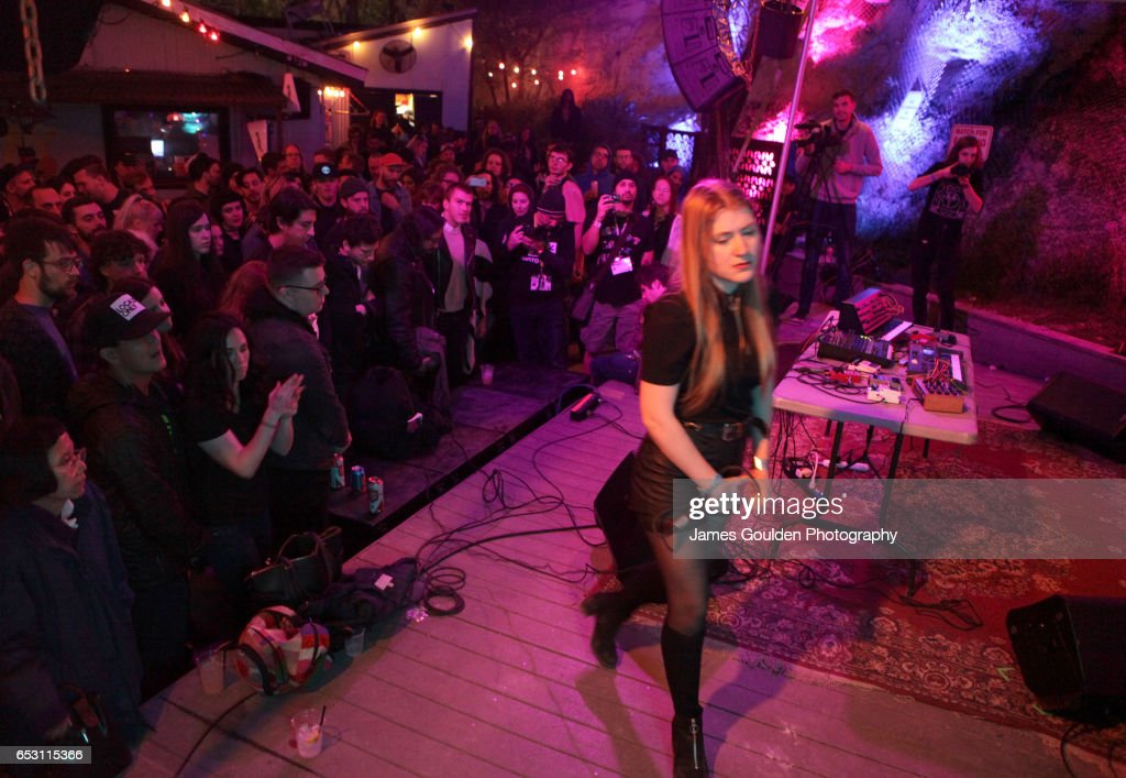 Pharmakon performs onstage at Moogfest during 2017 SXSW Conference and Festivals at Cheer Up Charlie's on March 13, 2017 in Austin, Texas.