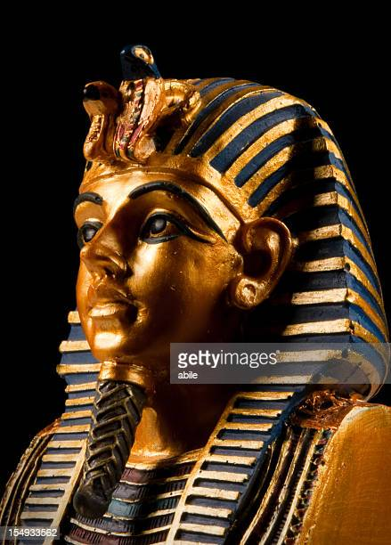 pharoah mask - cleopatra stock pictures, royalty-free photos & images