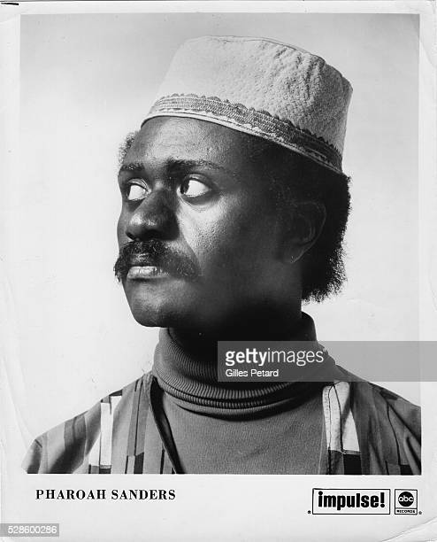 Pharoah Sanders studio portrait USA 1968