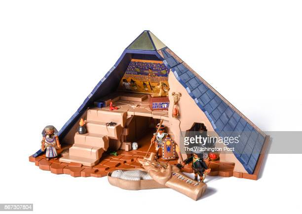 Pharoh's Pyramid from Playmobil one of the items for the Post's annual gift guide on October 2017 in Washington DC