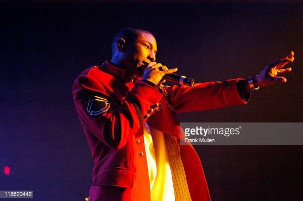 Pharrel Williams of NERD during NERD Perform in Atlanta March 15 2004 at The Tabernacle in Atlanta Georgia United States