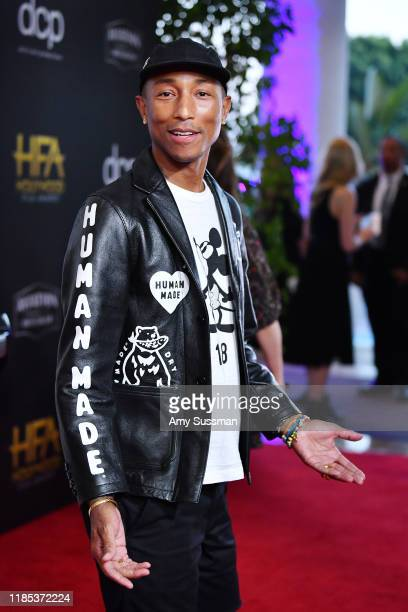 Pharrell attends the 23rd Annual Hollywood Film Awards at The Beverly Hilton Hotel on November 03 2019 in Beverly Hills California