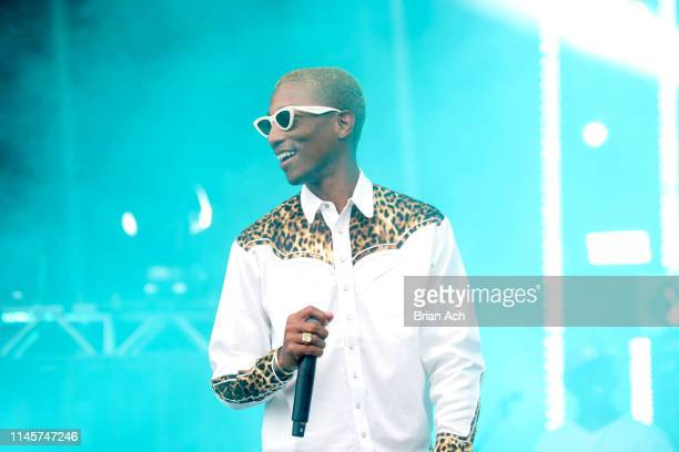 Pharrell onstage at SOMETHING IN THE WATER Day 3 on April 28 2019 in Virginia Beach City