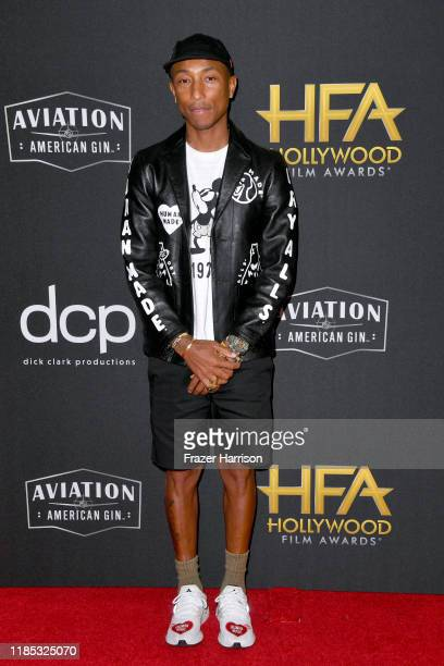 Pharrell Williams attends the 23rd Annual Hollywood Film Awards at The Beverly Hilton Hotel on November 03 2019 in Beverly Hills California