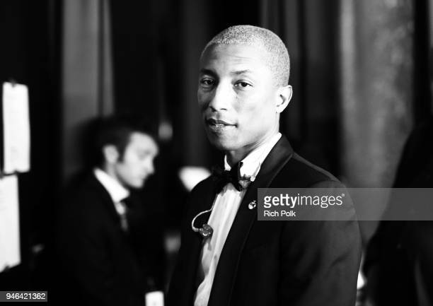Pharrell Williams attends the 7th Biennial UNICEF Ball on April 14 2018 in Beverly Hills California