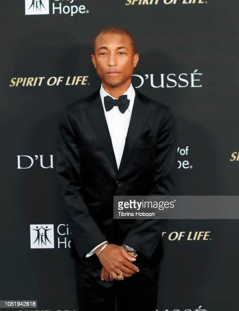 Pharrell Williams attends the City of Hope Gala on October 11 2018 in Los Angeles California