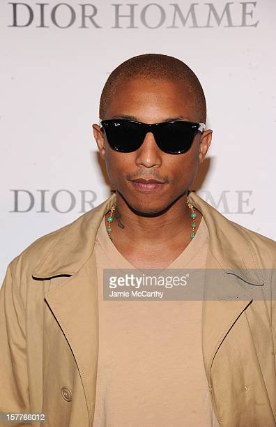 Pharrell Williams attends the World Premiere of Bruce Weber's Film 'CAN I MAKE THE MUSIC FLY' hosted by DIOR Homme's Kris Van Assche Bruce Weber W...