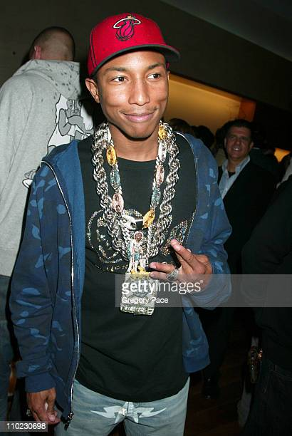 Pharrell Williams during Louis Vuitton and Interview Magazine Host Party for Pharrell Williams and Nigo to Celebrate Their Sunglasses Collection at...