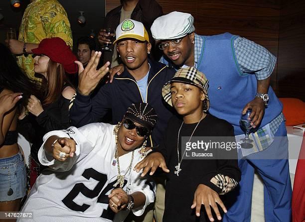 Pharrell Williams Jermaine Dupri Lil' Bow Wow and Da Brat