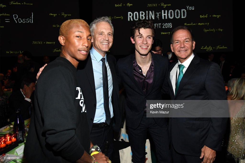 Robin Hood Benefit 2019 : News Photo