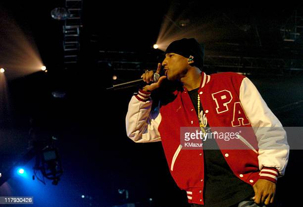 Pharrell Williams of NERD during MTV's Super Bowl Friday Night Live from Houston at Verizon Center in Houston Texas United States