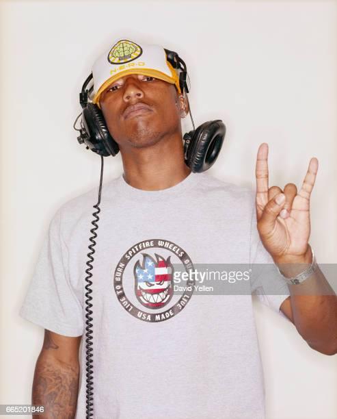 Pharrell Williams of The Neptunes