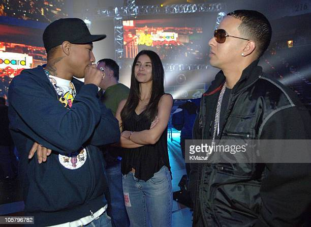 Pharrell Williams Roselyn Sanchez and Daddy Yankee