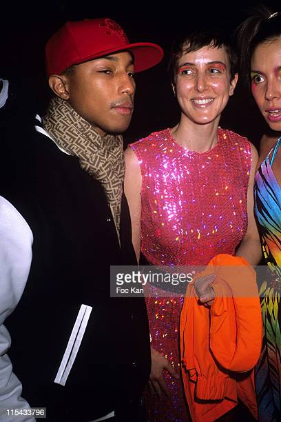 bcb11a5bd0 Pharrell Williams Sarah Colette and guest during Paris Fashion Week  Autumn Winter 2006 Ready to