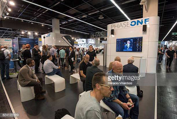 Phase One stand in Photokina 2014 in Cologne Germany 18 September 2014 Photokina the world's leading imaging fair brings together the industry trade...