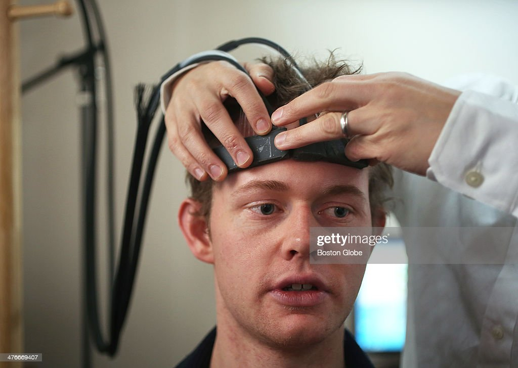 Headband Could Help Brain Communicate With Computers : News Photo
