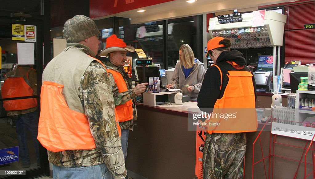Pheasant hunters stock up on coffee and other supplies before