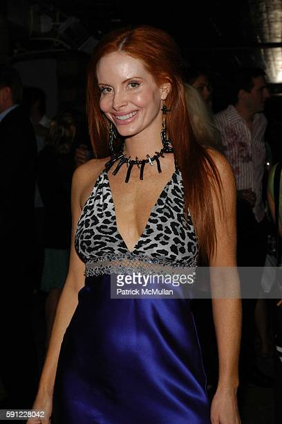 Pheobe Price attends Paper Magazine and Jaguar 2005 to celebrate the 8th Annual Beautiful People Issue at Roosevelt Hotel on April 15 2005 in...
