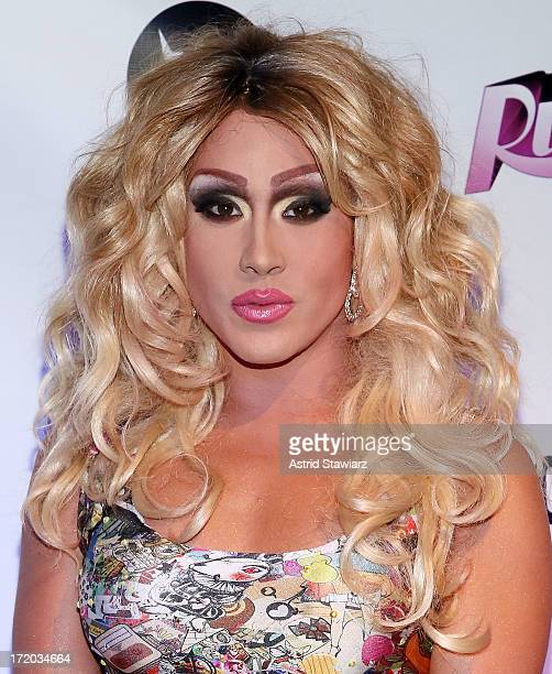 Phi O'hara attends Logo TV's Official Pride NYC 2013 Event at Highline Ballroom on June 30 2013 in New York City
