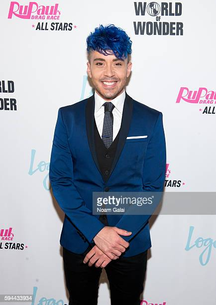 Phi Phi O'Hara attends the RuPaul's Drag Race All Stars season two premiere at Crosby Street Hotel on August 23 2016 in New York City