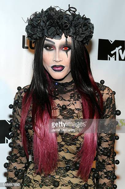 Phi Phi O'hara attends the Snooki and JWoww Halloween Event Night Of The Living Drag at Providence on October 25 2013 in New York City