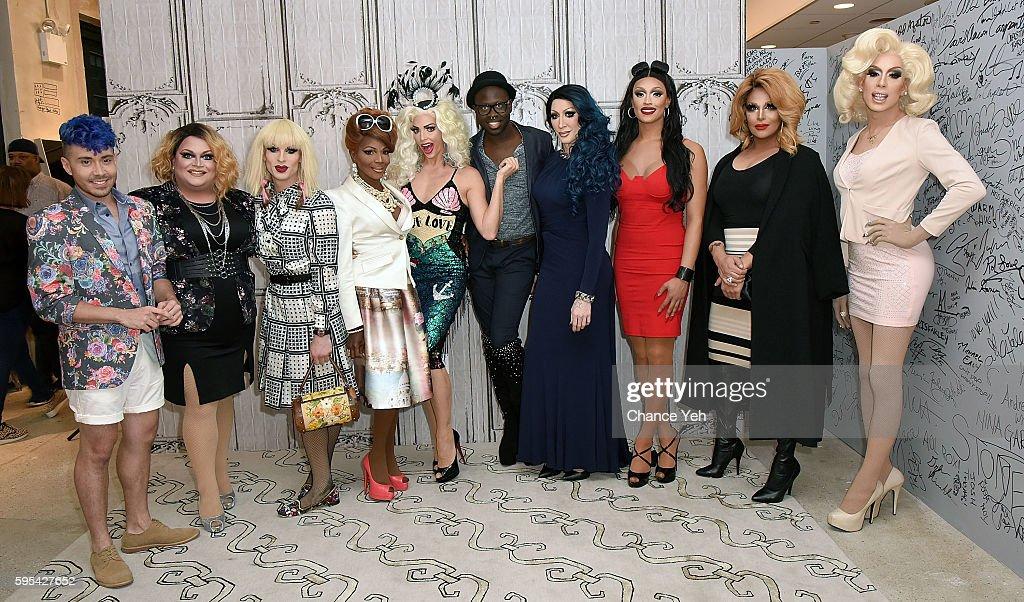 "AOL Build Presents The Cast Of ""RuPaul's Drag Race All Stars"""