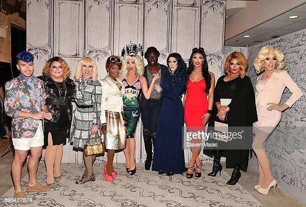Phi Phi O'Hara Ginger Minj Katya Zamolodchikova Coco Montrese Alyssa Edwards host Bob the Drag Queen Detox Tatianna Roxxxy Andrews and Alaska attend...