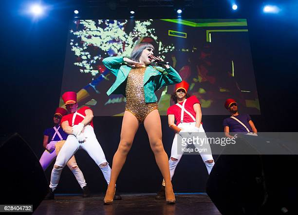 Phi Phi O'Hara performs during RuPaul's Drag Race Christmas Queens Show at The O2 Institute Birmingham on December 7 2016 in Birmingham England
