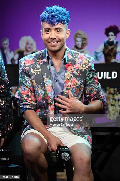 Phi Phi O'Hara speaks at AOL Build Presents The Cast Of RuPaul's Drag Race All Stars at AOL HQ on August 25 2016 in New York City