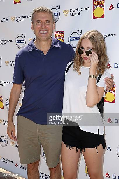 Phil and Lily Rosenthal attend the 7th Annual LA Loves Alex's Lemonade at UCLA on September 10 2016 in Los Angeles California