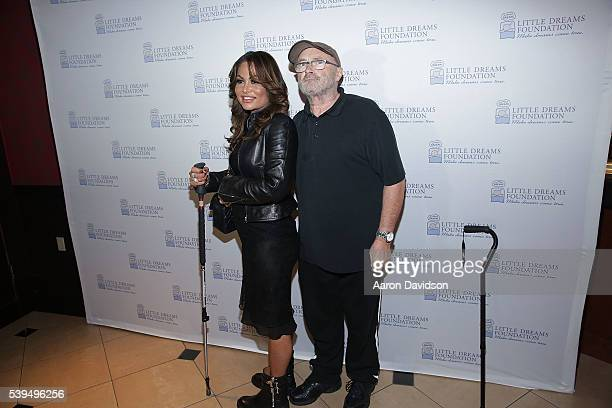 Phil and Orianne Collins attend Little Dreams Foundation Annual Open Musical Auditions at Seminole Hard Rock Hotel on June 11 2016 in Hollywood...