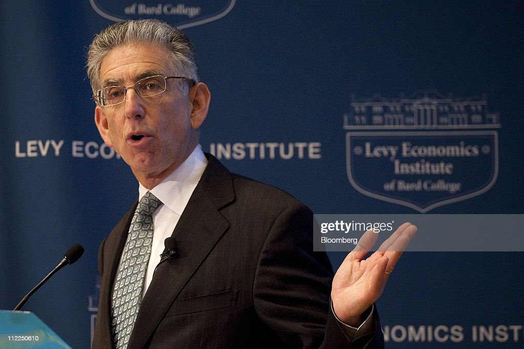 Phil Angelides, chairman of the Federal Crisis Inquiry Commission, speaks at the Levy Economics Institute conference in New York, U.S., on Thursday, April 14, 2011. The 20th Annual Levy Economics Conference, which runs from April 13-15, will address the ongoing effects of the global financial crisis on the real economy as well as examine proposed and recently enacted policy responses. Photographer: Michael Nagle/Bloomberg via Getty Images